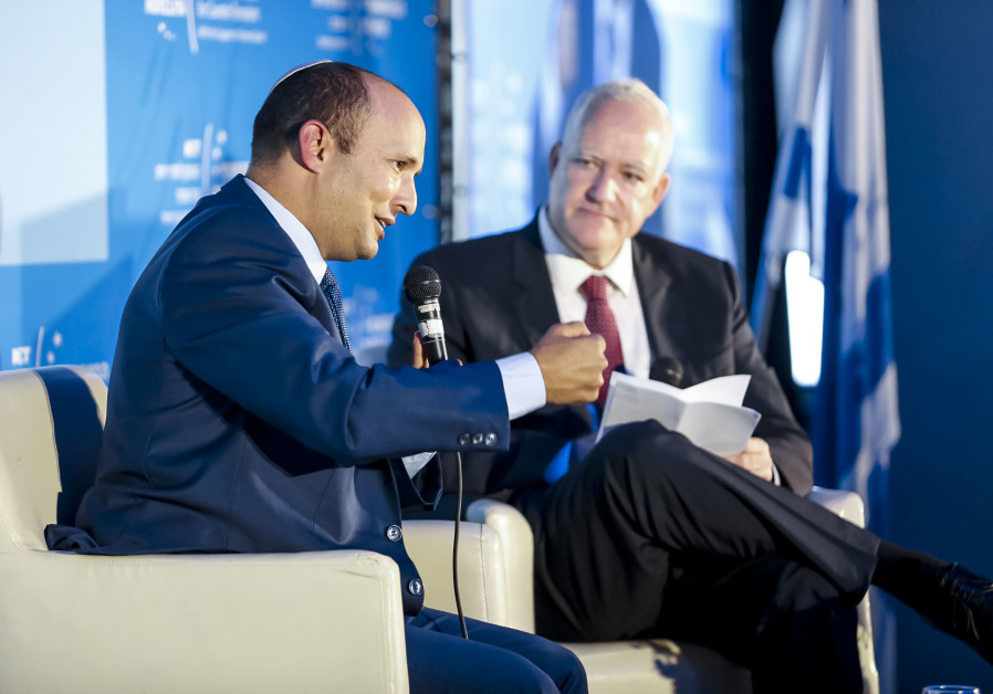 Education Minister Naftali Bennett at Institute for Counter-Terrorism's 17th annual conference, Sept