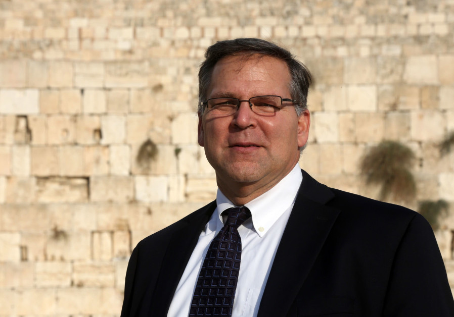 Jerry Silverman standing at the Western Wall. (Photo by Marc Israel Sellem/The Jerusalem Post)