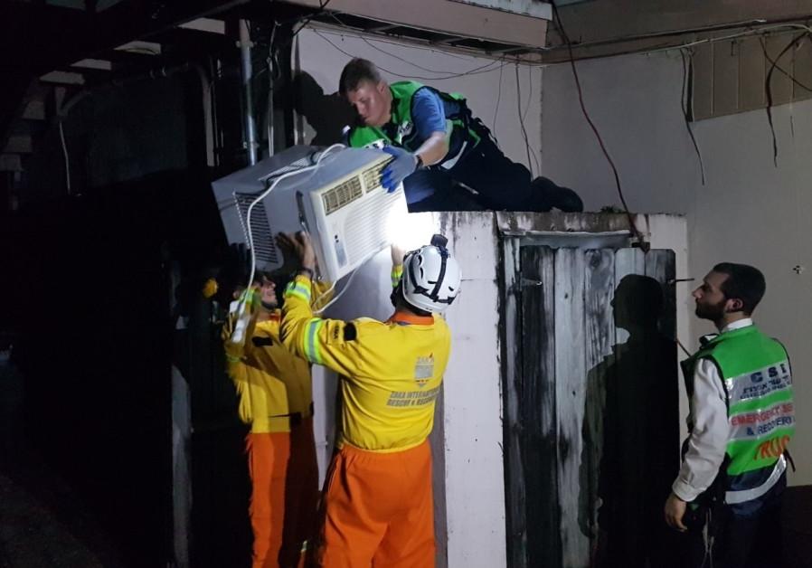 Israeli ZAKA volunteers aid Miami hurricane victims