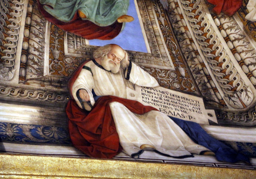 Prophat Isaiah in the Sacristy of Saint Mark