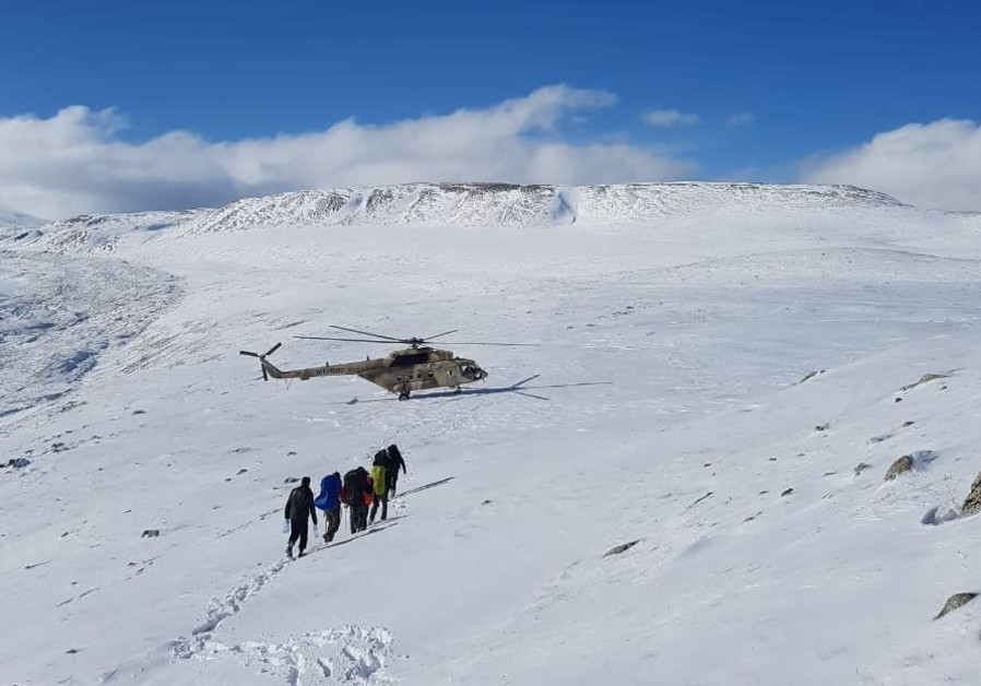 Five Israelis rescued on a mountain in Mongolia