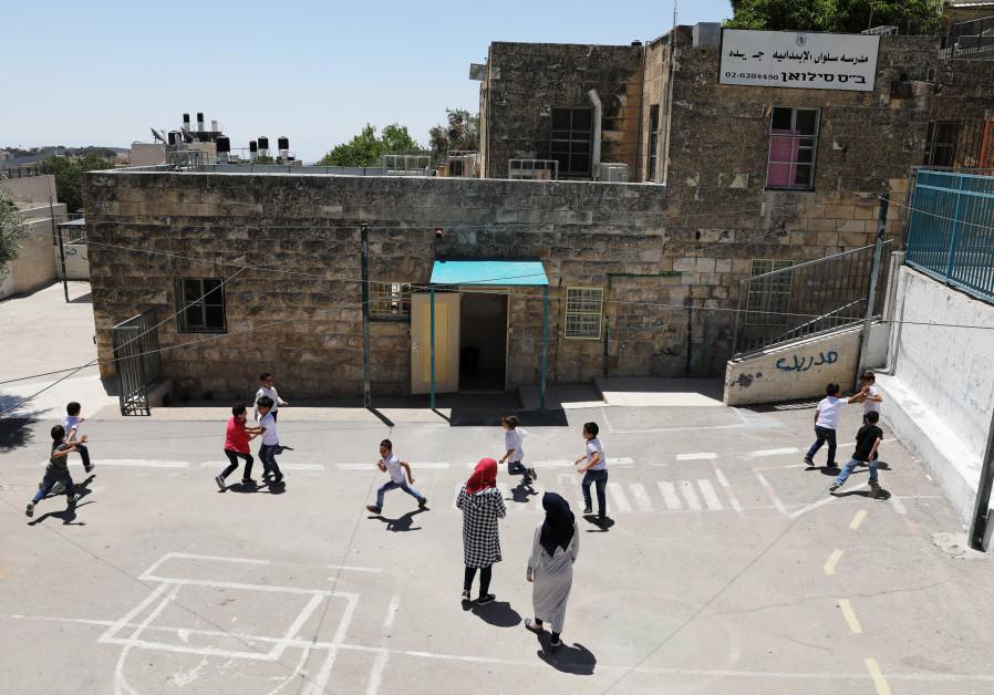1,800 children in eastern Jerusalem school did not start academic year