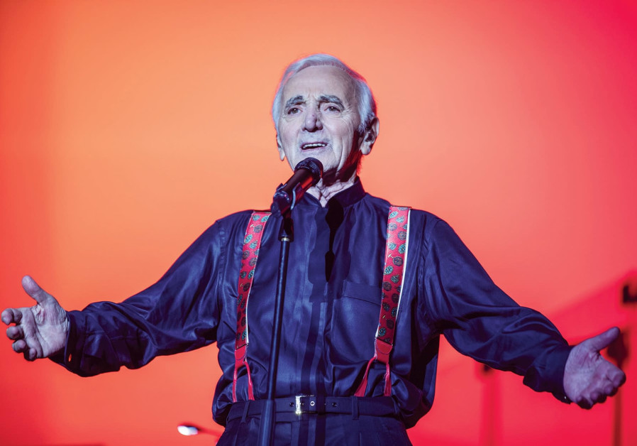 Charles Aznavour to perform once again in Israel