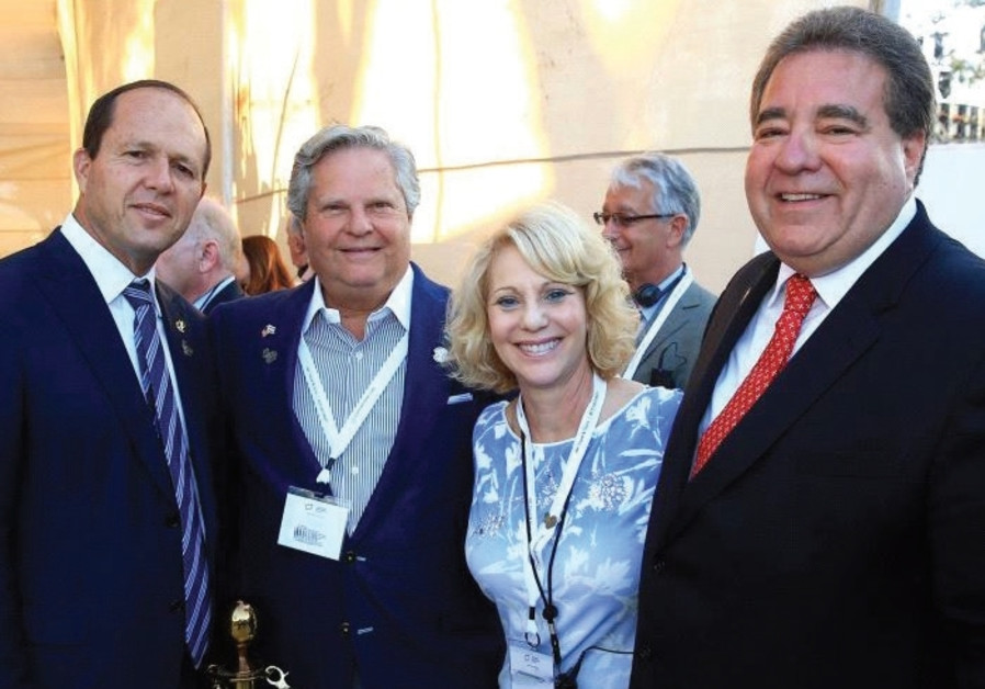 Celebrating the changing of the guard at JNF-USA