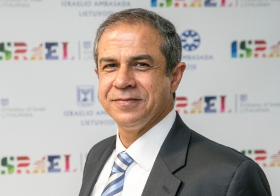 Israeli Ambassador to Lithuania Amir Maimon