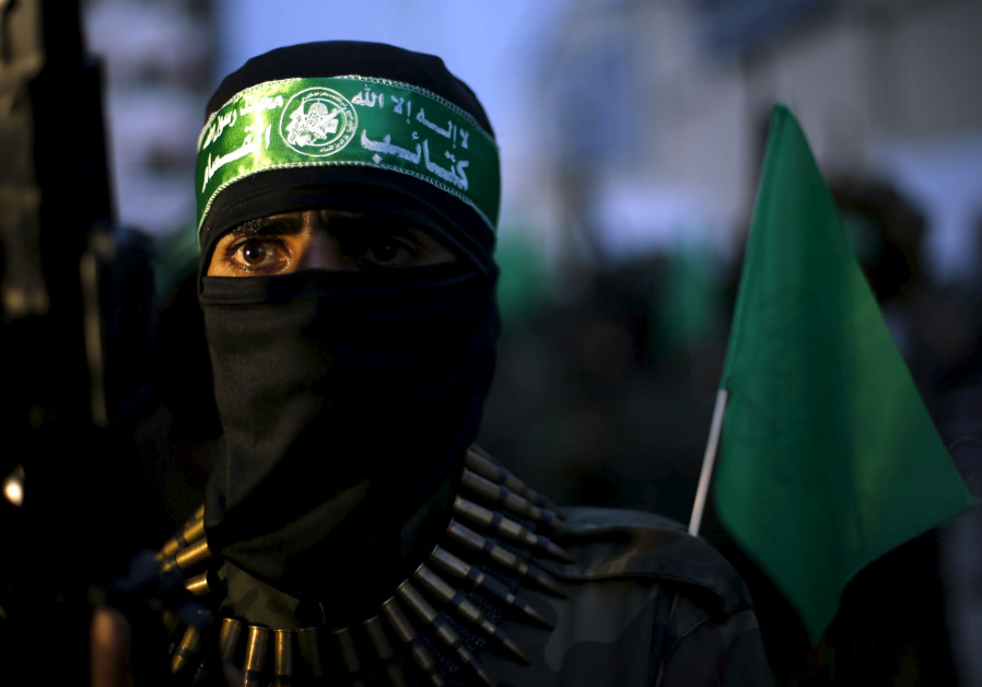 Palestinian Hamas militant Hamas leader Sheikh Ahmed Yassin gaza