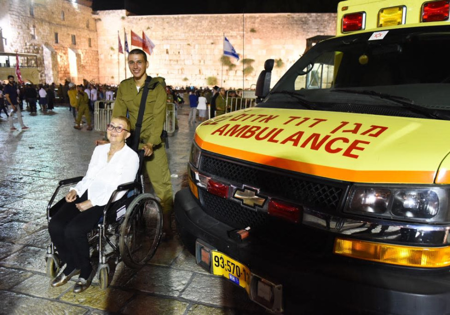 MDA fulfills cancer patient's dream: To see grandson join IDF at the Western Wall