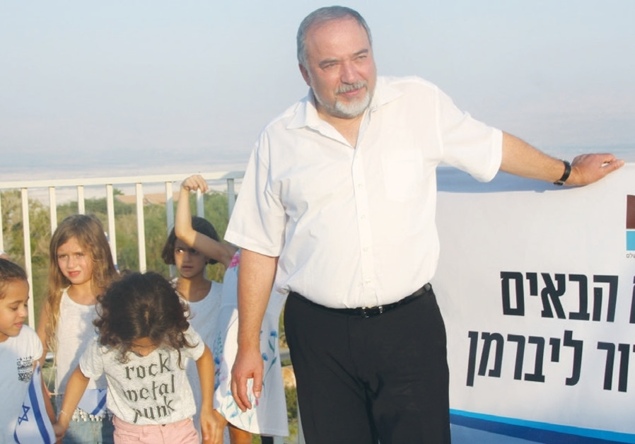Liberman: West Bank settlements are necessary for Israel's defense