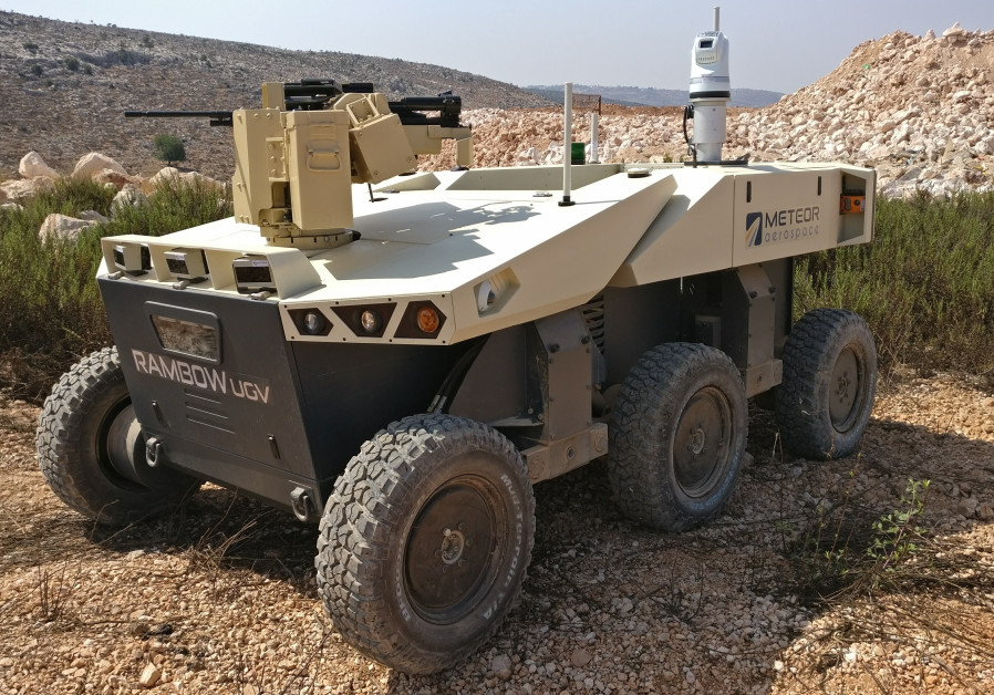 RAMBOW: Israel unveils latest unmanned ground vehicle
