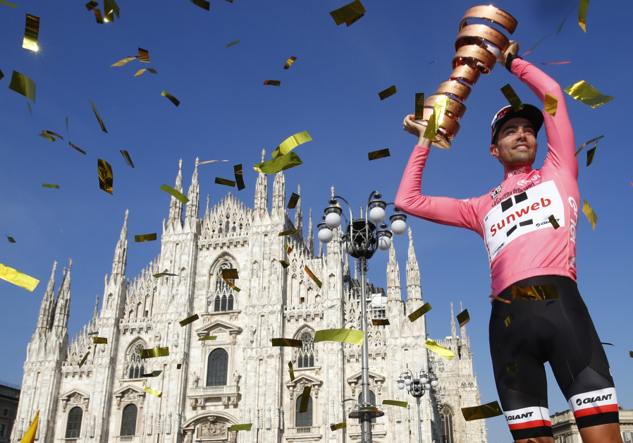 Jerusalem to host world-famous Giro d'Italia 2018 'Big Start'