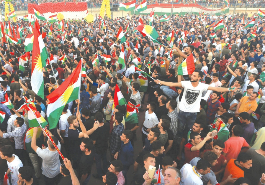 A tale of two lonely nations: Israel and Kurdistan