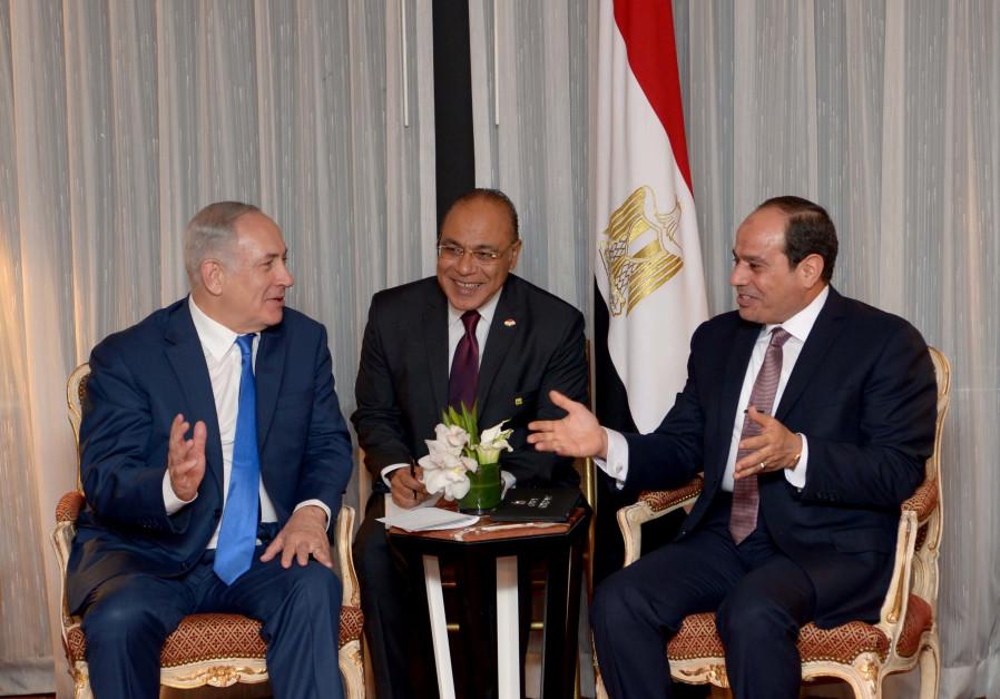 Sisi tells Netanyahu he wants to help broker peace