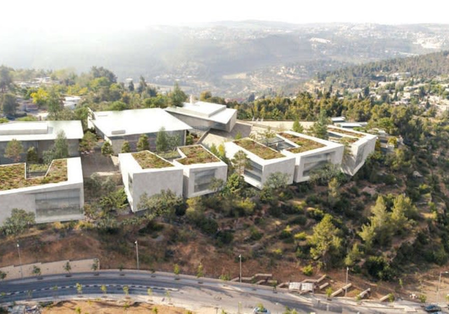 THIS IMAGE SHOWS how the IDF military campus under construction in Jerusalem will look.