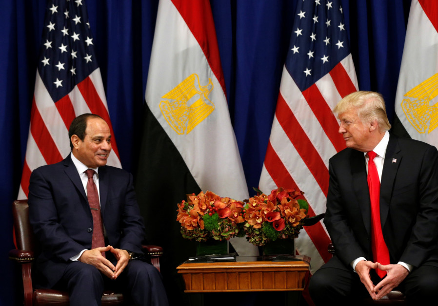 Trump: US will consider resuming halted military aid to Egypt