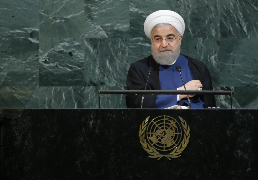 Iran's Rouhani takes the stage at UN to lambast 'ignorant' Trump