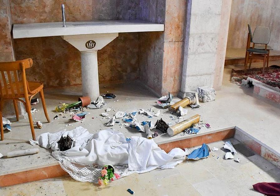 Catholic monastery near Jerusalem vandalized for third time in 4 years