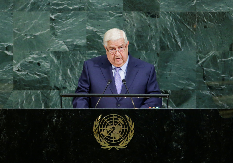 Syria to U.N.: Israel assisted terrorists, we'll liberate Golan Heights
