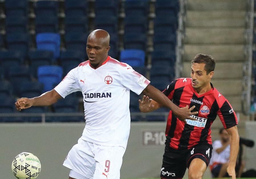 Hapoel Beersheba forward Anthony Nawkaeme