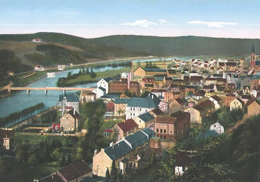 A postcard of Werden in 1916.
