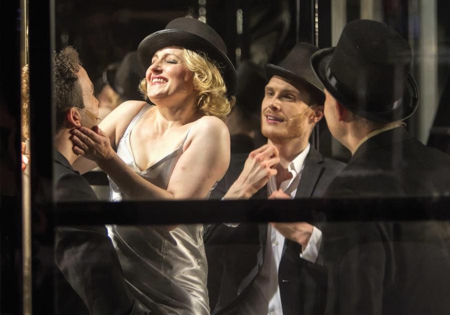 A SCENE from Neukoellner Oper's musical 'Stella: the Blond Poison of Kurfurstendamm.'
