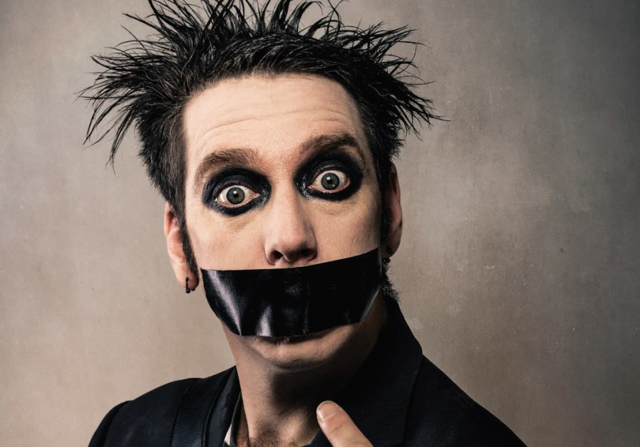 TALK IS cheap: New Zealand comedic mime Tape Face.