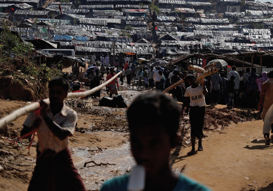 'Will you let Israel help Myanmar commit war crimes?'