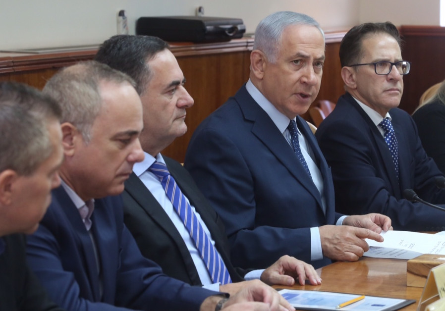 Israeli Prime Minister leads the weekly Cabinet meeting in Jerusalem