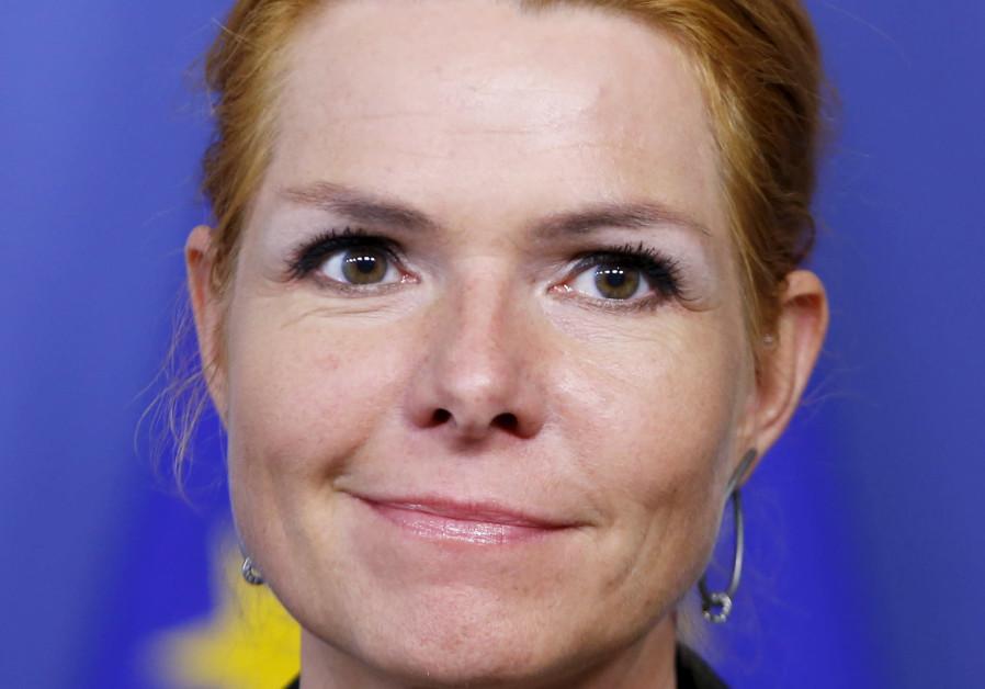 Denmark's immigration minister Inger Stojberg.