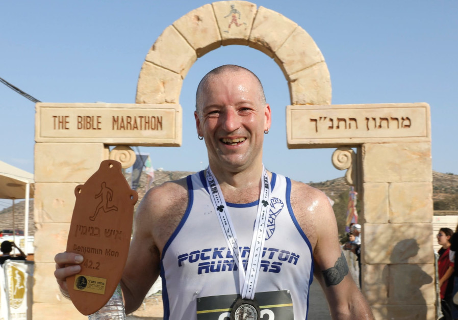 Richard Ginn at the Bible Marathon.