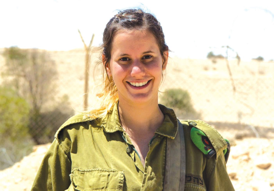 Yam Elias, an IDF lone soldier from Mexico.