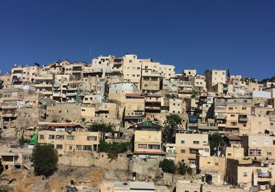 'A sprawling mess built on an archeological gold mine': Silwan Valley.