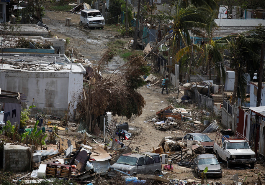 Puerto Rico's Jews turn to helping neighbors ravaged by Hurricane Maria
