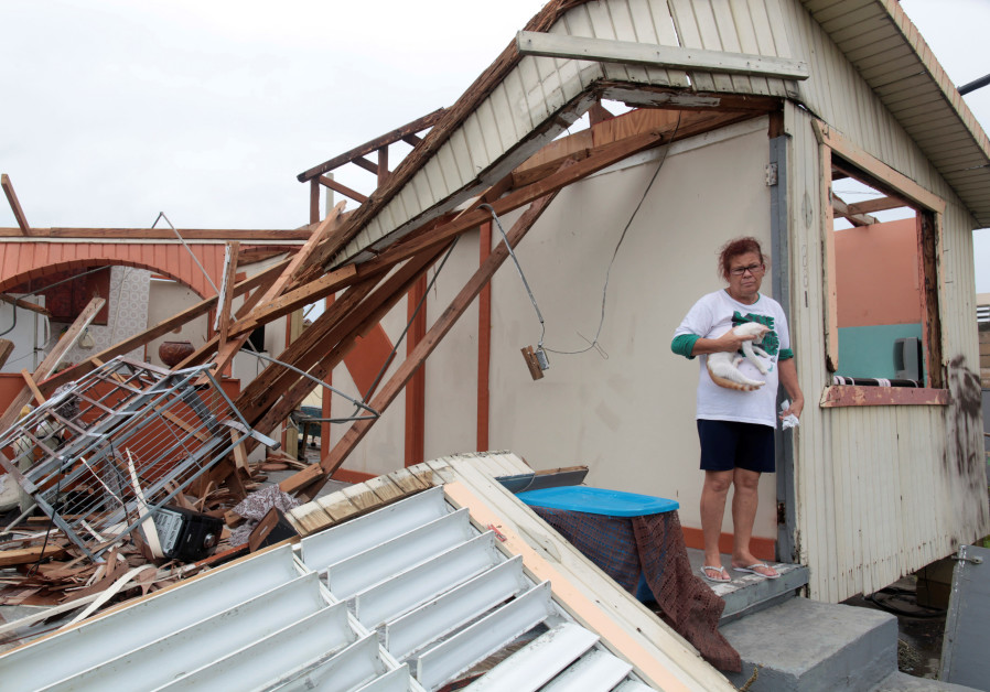 puerto rico hurricane damage maria humanitarian crisis storm global warming