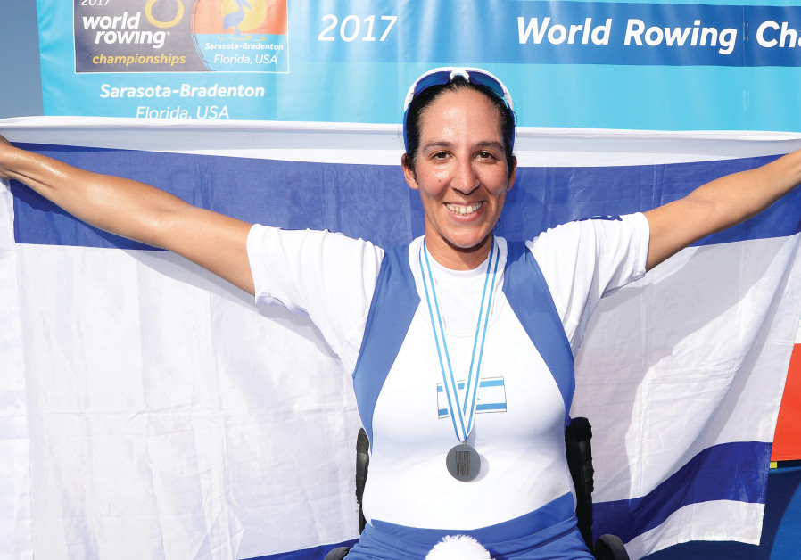 Israel's Samuel captures silver at rowing Worlds