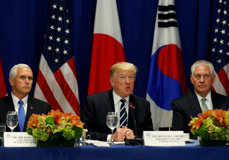 Trump to Tillerson: Don't bother talking to North Korea