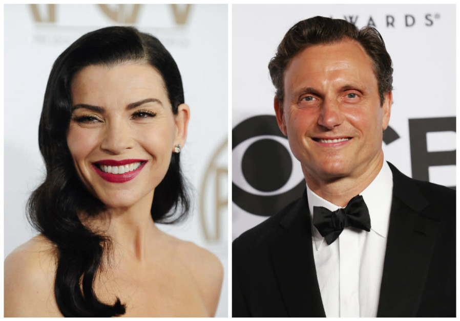 Julianna Margulies and Tony Goldwyn
