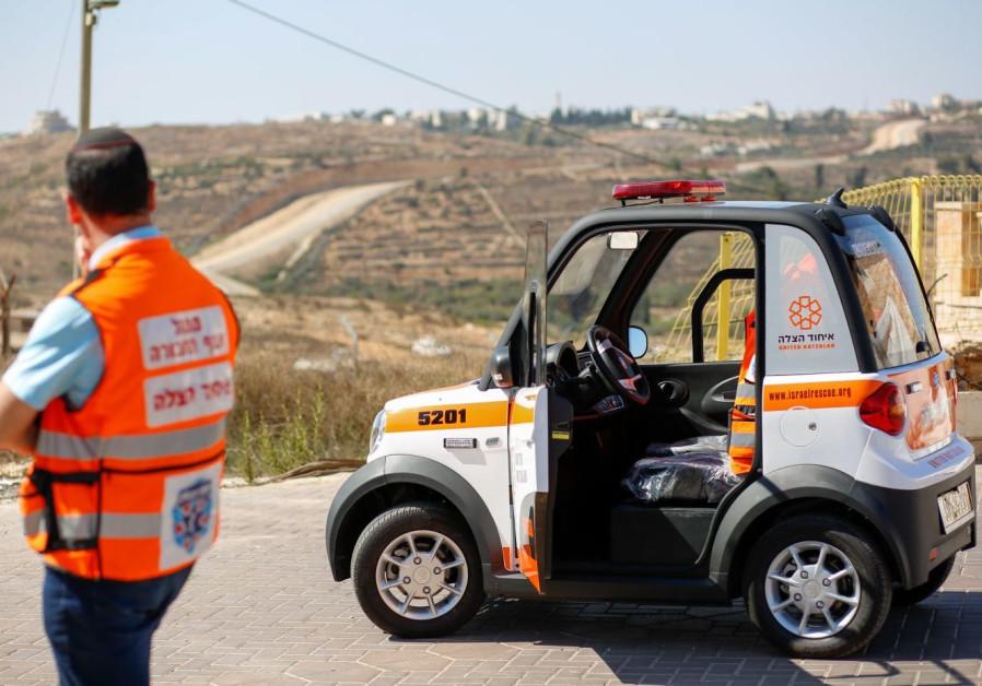 United Hatzalah ambulance