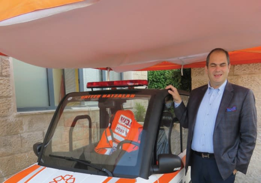United Hatzalah introduces world's first narrow electric ambulance