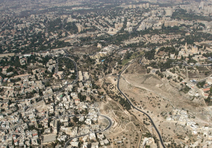 AN AERIAL view of Jerusalem.
