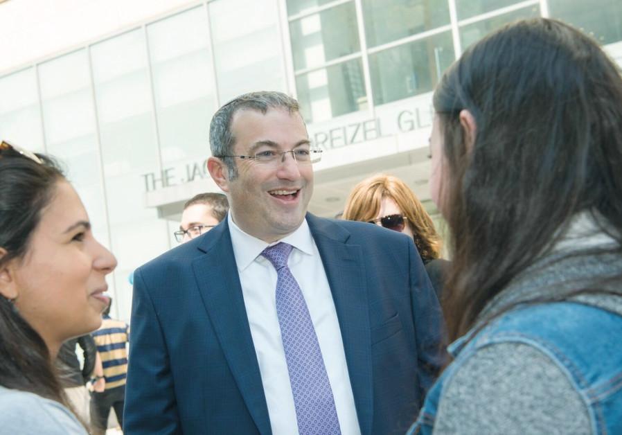 New Yeshiva University chief looks to increase partnerships with Israel