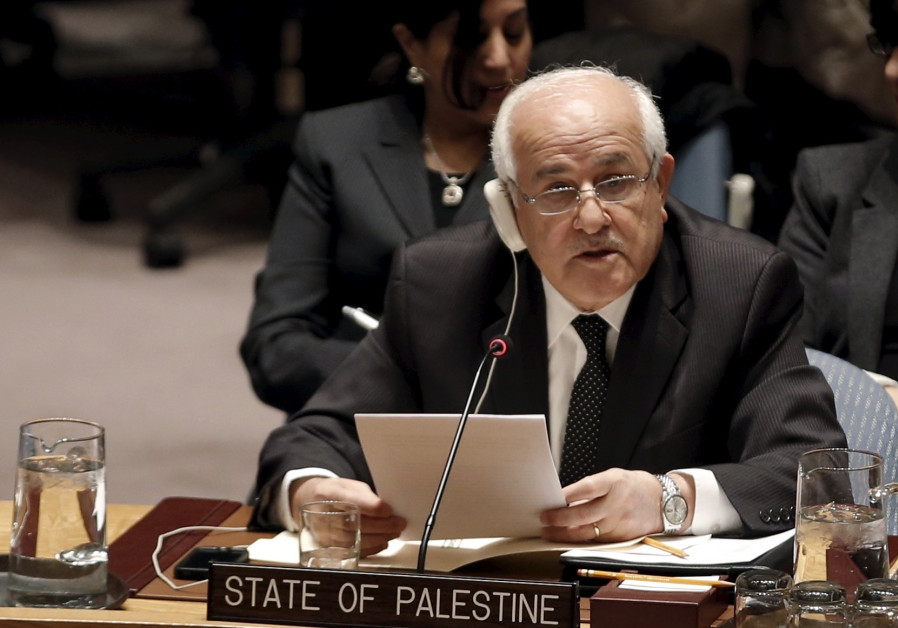 PA envoy: Even without a peace deal, Palestinians will proceed 'as a state'