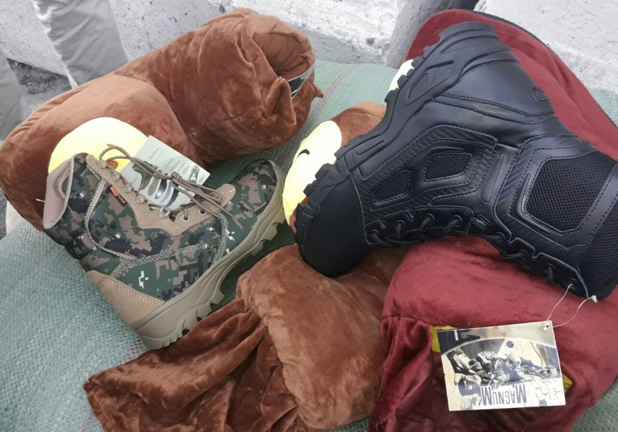 Slippers under the radar: Gaza army boot smuggling foiled