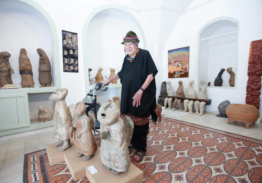 Bruno Tamar Eytan among her creations.