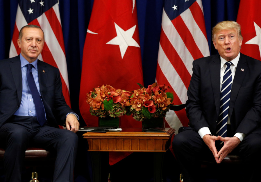 Trump asks Turkey's Erdogan to 'deescalate' Syrian offensive