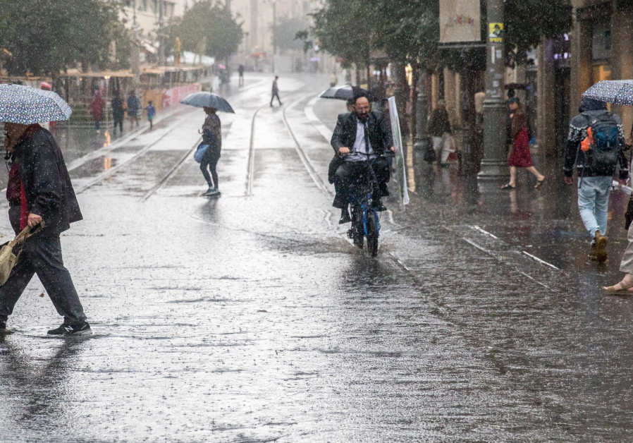 Season's first rainfall leaves one dead, causes flooding and power outages