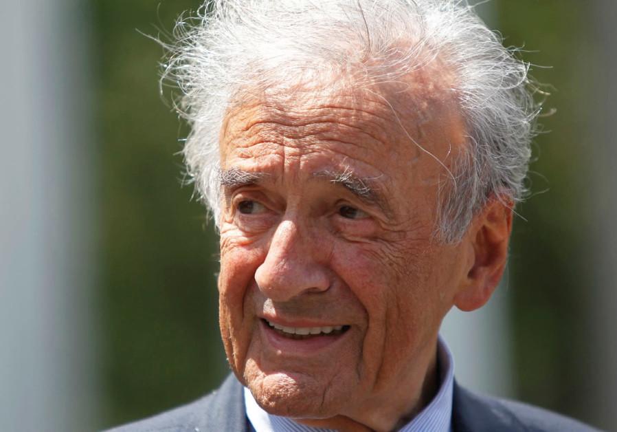 A shameful attack on Elie Wiesel