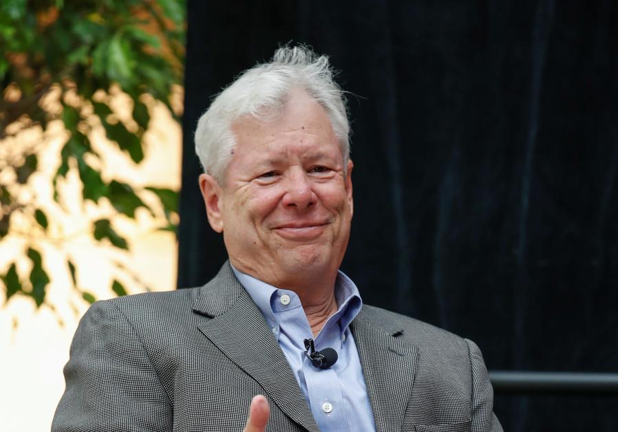 US economist Richard Thaler.