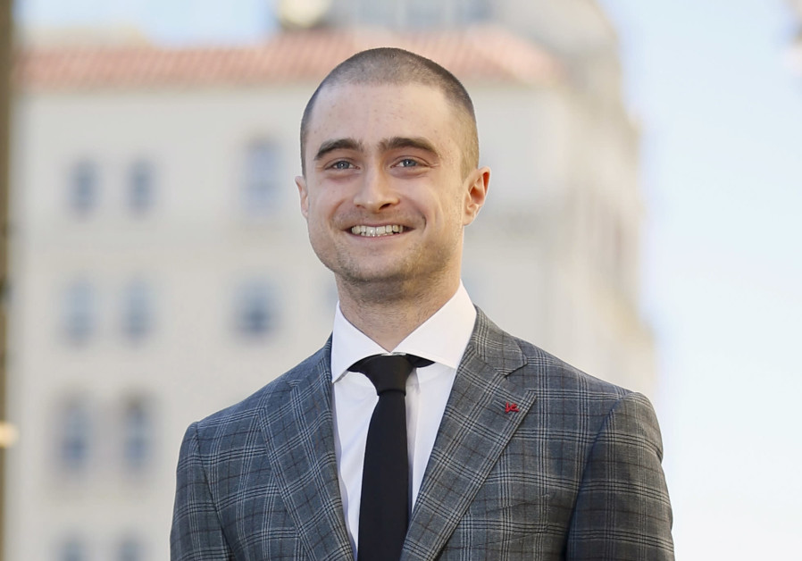 Radcliffe stands during a ceremony honoring him with a star on the Hollywood Walk of Fame in Hollywo