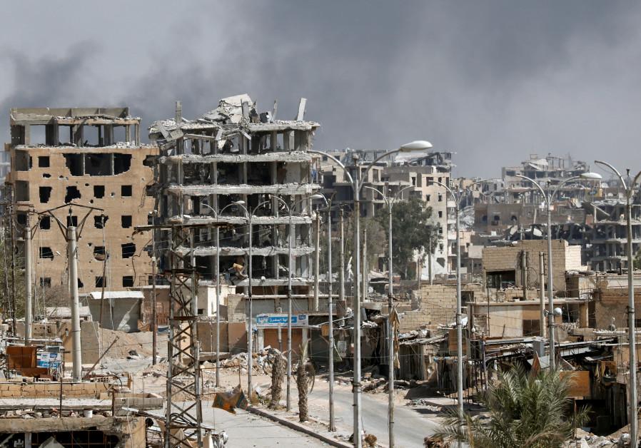 Islamic State 'on the verge' of Raqqa defeat