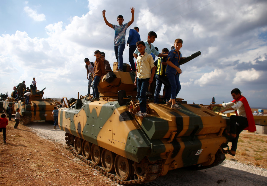 Analysis: Turkey plans move to box in Kurds in northern Syria